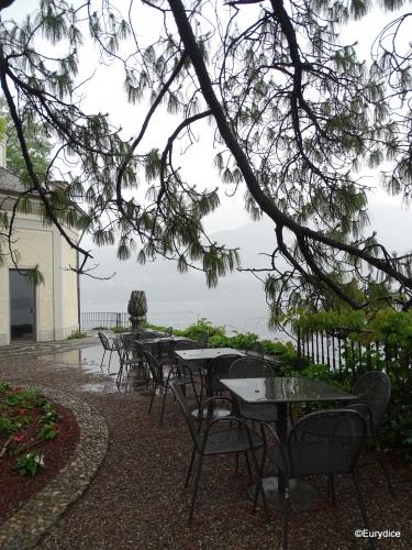 Côme, Italie, pluie